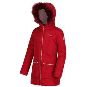 Regatta Cherryhill Jacket Girls Rumba Red